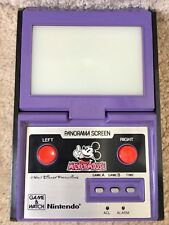 Vintage 1984 Nintendo Game & Watch Mickey Mouse Panorama Screen
