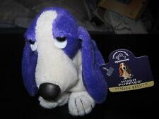 "Vintage Violet ""Hush Puppies"" BEAN BAG Plush BASSET HOUND Dog by APPLAUSE- New"
