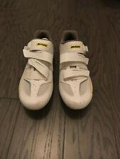Mavic Ksyrium Elite W II. Women's Road Cycling Shoe. White/Yellow. Size US 9