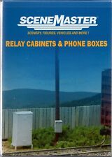 HO Scale Walthers SceneMaster 949-4154 Relay Cabinets and Phone Boxes