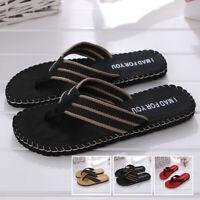 Mens Flip Flops Beach Sandals Lightweight EVA Sole Comfort Thongs-Beach-Slipper