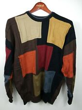 Tundra Canada Color Block Sweater Mens Large Multicolored