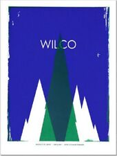 Wilco Gig Poster, Calgary 2007 (Original Silkscreen) 19 x 25' Print