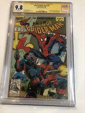 Web of Spider-Man (1993) # 97 (CGC 9.8 SS) | Signed Saviuk | 1st App Nightwatch