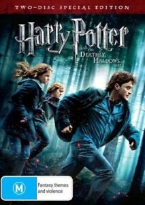 Harry Potter and The Deathly Hallows 2 DVD disc special Pack