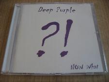 DEEP PURPLE Now What?!  CD HARD ROCK BLACK SABBATH LED ZEPPELIN OZZY