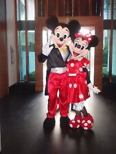 Minnie Mouse Mascot Fancy Costume Cartoon Party Adult Size