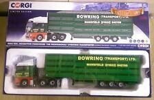 Corgi CC15210 MAN TGX Livestock Transporter Bowrings Warsop Ltd Ed 1000 of 1000
