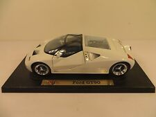 Maisto Collectable Special Edition White Ford GT90 1/18 Scale Diecast Car #31827