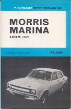 Morris Marina from 1971 Olyslager Motor Manual 1.3 & 1.8 models