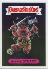 Garbage Pail Kids Chrome Series 1 Base Card 33b SAVAGE STUART