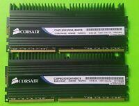 Corsair Dominator 8GB (2X4GB) 1600 MHz DDR3 CMP8GX3M2A1600C9 Kit Memory w/DHX