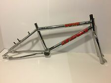 Dyno VFR BMX Bicycle Frame & Fork Chrome Red Old School Bike