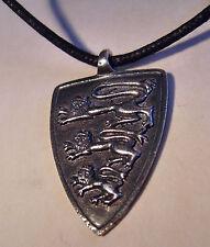 Museums Replik mittelalterlicher Wappen Amulett Anhänger Löwe 1100 A.D England