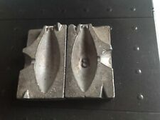 fishing weight lead mould 8oz