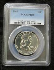 1961 Franklin Half Dollar * PCGS Graded PR66 * Proof * 90% Silver
