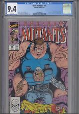 The New Mutants #88 CGC 9.4 1983 Marvel 2nd App Cable X-Factor Freedom Force App