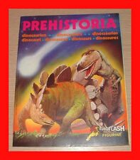 ALBUM EUROFLASH 1988 PREHISTORIA VUOTO Qs EDICOLA