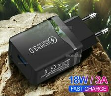 18W Quick Charge 4.0 3.0 Mobile Phone Fast USB Wall Charger