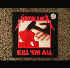Metallica/Kill 'Em All 1987 DMM 2 X LP Limited Edition Vinyl Looks Unplayed Rare