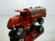 MATCHBOX YFE11 MACK AC TRUCK FIRE DEPT TANKER #1 - RED L12.0cm - GOOD CONDITION