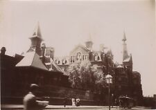 Montréal Scène de rue Québec Canada Canada Snapshot Voyage 1896 Vintage Citrate