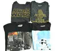 Wholesale Kids Boy's M Star Various Brands Star Wars Graphic T-Shirts Lot of 4