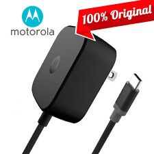 NEW OEM Motorola TurboPower 15 Fast USB Type-C Wall Home Charger Power Adapter