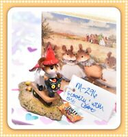 ❤️Wee Forest Folk M-296 Scootin' with the Loot Halloween Scooter Mouse Retired❤️