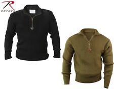 XXL YARM DUCK /& COVER Mens Half Zip Button Knit Jumper Top Navy Size