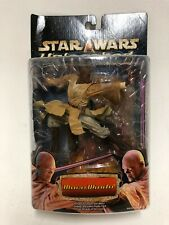 Mace Windu-Unleashed. muy Raro y Coleccionable Figura De Star Wars.