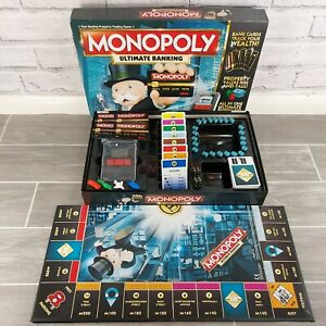Monopoly Ultimate Banking Electronic Board Game Property Trading Game Hasbro
