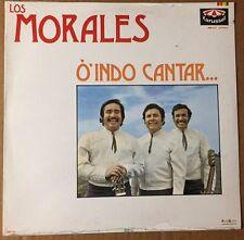 LOS MORALES O INDO CANTAR…  MEXICAN 1983 LP STILL SEALED RANCHERAS / CORRIDOS