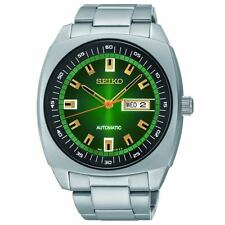Seiko SNKM97 Recraft Green Dial Stainless Steel Automatic Men's Watch
