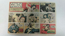 CONAN THE BARBARIAN Newspaper Comic Strip                Sunday October 8th 1978