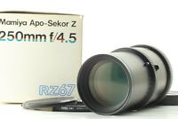 [ MINT in BOX ] Mamiya APO Sekor Z 250mm F4.5 Lens For RZ67 Pro Pro II IID JAPAN