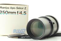 [ MINT in BOX ] Mamiya APO Sekor Z 250mm F4.5 Lens For RZ67 Pro Pro II IID JAPAN