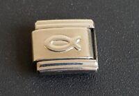 Christian Fish Peace Italian Charm Bracelet Charms Link