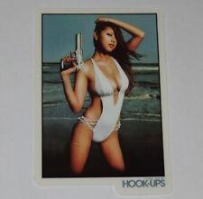 HOOK-UPS - Gun Fever - Skateboard Sticker / Manga graphics
