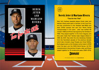 1985 Donruss Style DEREK JETER | MARIANO RIVERA Custom Novelty MLB Baseball Card