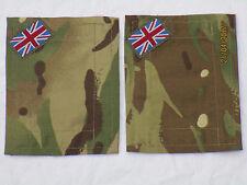 MTP Klett Patches  2 Stück  10x13cm, neue Version,für Jacket,Smock,UBACS,mit NSN