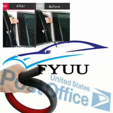 50cm Rubber Insulation noise B Pillar Sealing Strips For Car Rear Edge Trim #