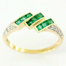 Cocktail Natural Emerald Fine Rings