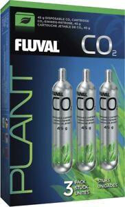 Fluval Pressurized CO2 Disposable Cartridges - 45gm (3pk)