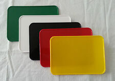 NEAL ENT OLD SCHOOL BMX NUMBER PLATE RECTANGLE 7X10 WHITE RED BLACK YELLOW GREEN