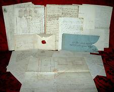 Carteggio Ampliamento del Cimitero di Porcari Chiesa S. Giusto Lucca 1783-1880