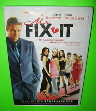 Mr Fix It DVD Screener Promotional Movie David Boreanaz Alana De La Garza 2006