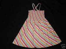 SO NICE Girls LANDS END Smocked SUMMER Dress Sz 6X