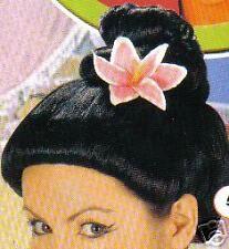 Perruque Chinoise chignon noire SAIGON SHANGAI DEGUISEMENT GEISHA ASIATIQUE 14G