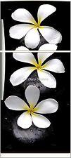Sticker frigo électroménager déco cuisine Fleurs 70x170cm réf 571